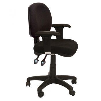 Avon Medium Back Chair with Arms